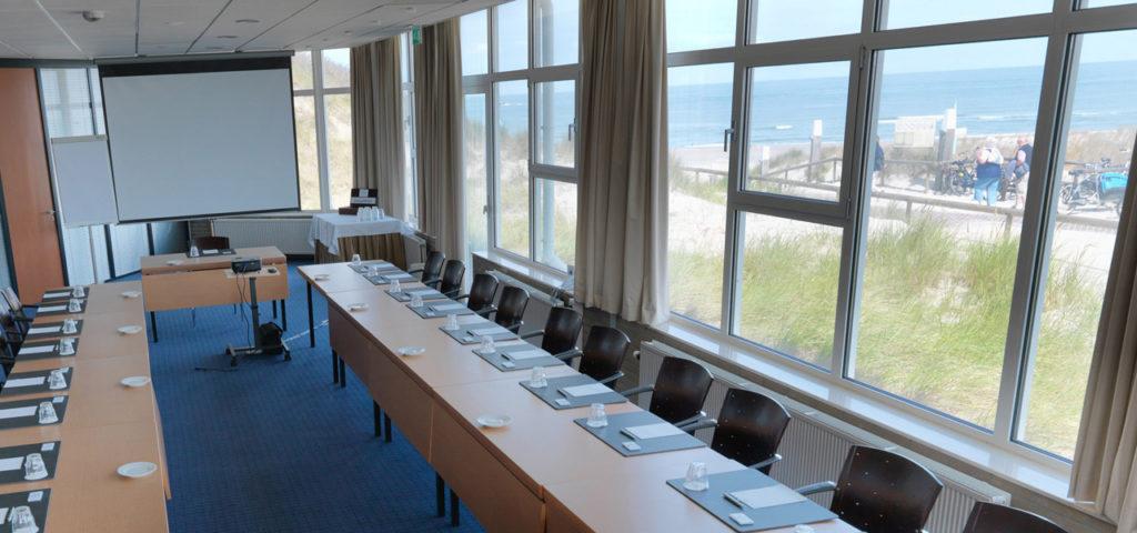zalen-vergaderen-strand-duinen-vlieland-strandzaal-westcord-strandhotel-seeduyn - Westcord Hotels