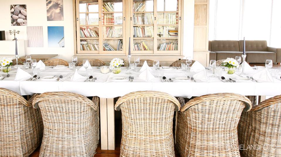 Dinertafel Vuurtorenlounge Seeduyn Vlieland - Westcord Hotels