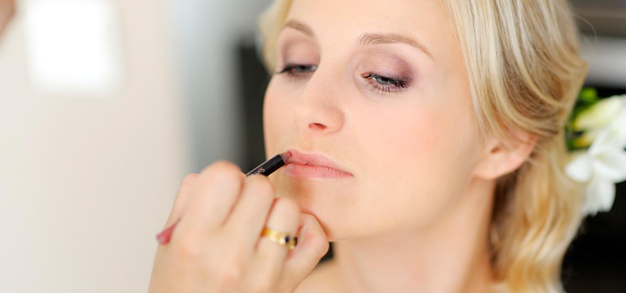 Bruidskapsel & make-up