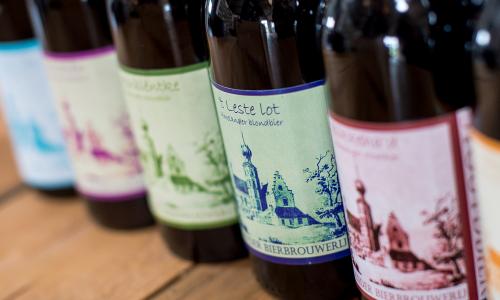 Bierproeverij in de Amelander Bierbrouwerij